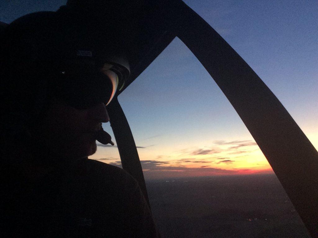 Flying school - Night flying  - Mont Blanc Hélicoptères Arcachon