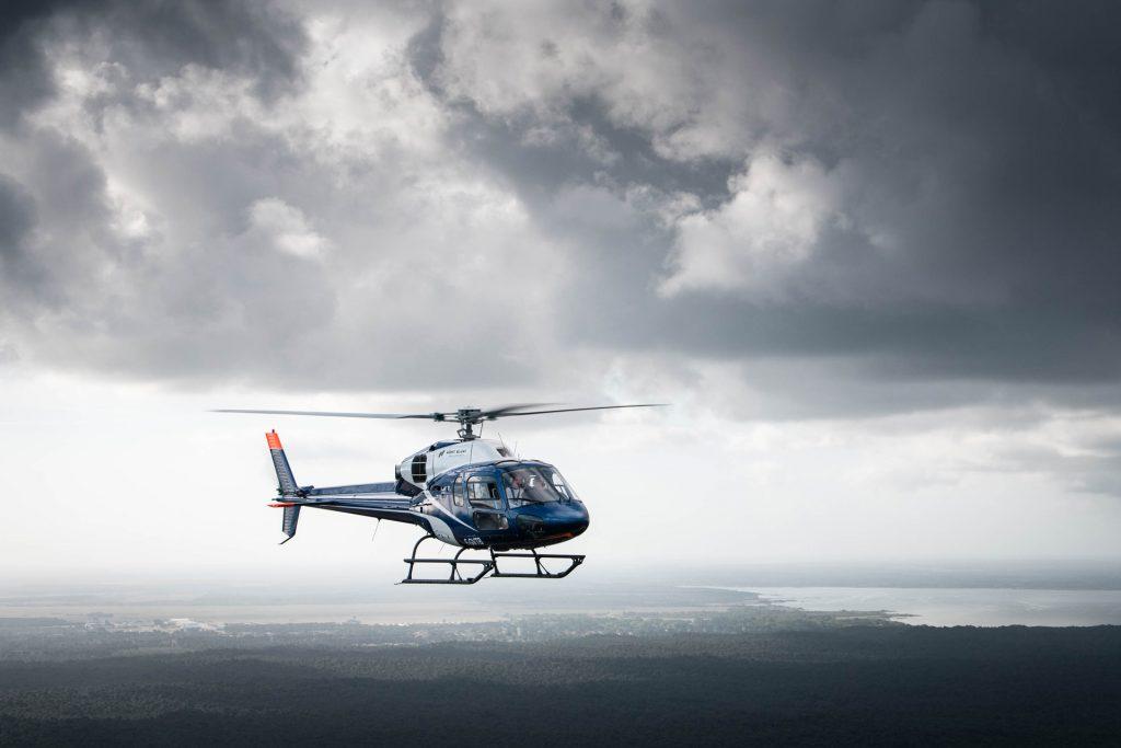 Hélicoptères - AS355N - Mont Blanc Hélicoptères Arcachon