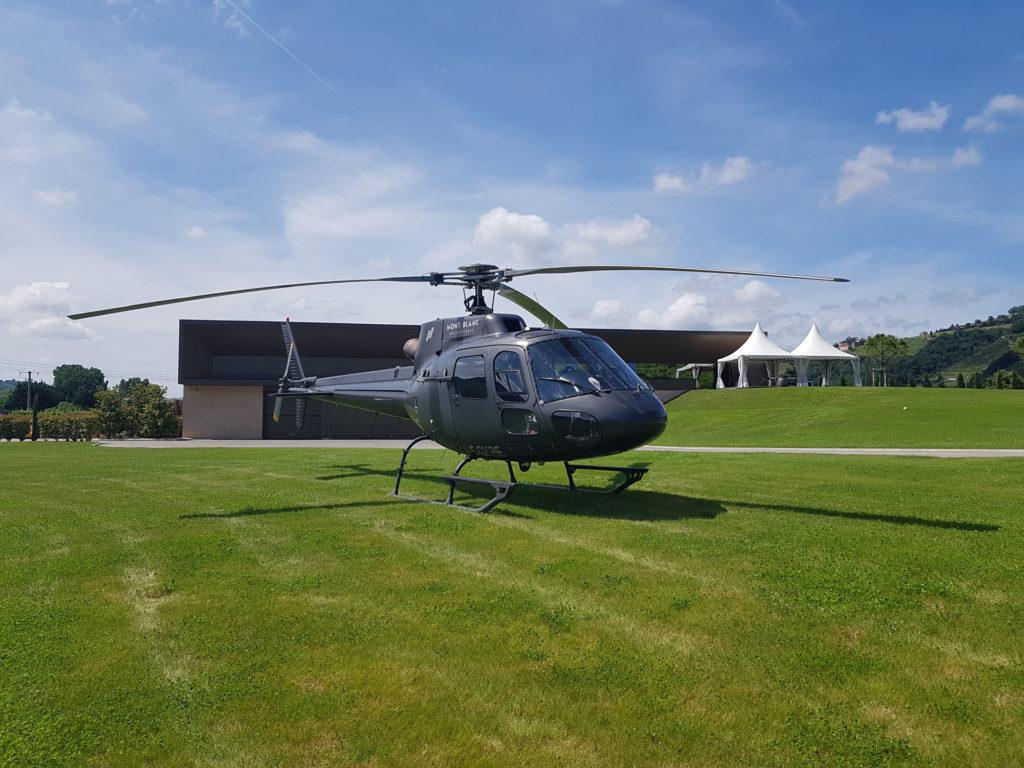 Hélicoptères - AS350 - Mont Blanc Hélicoptères Arcachon