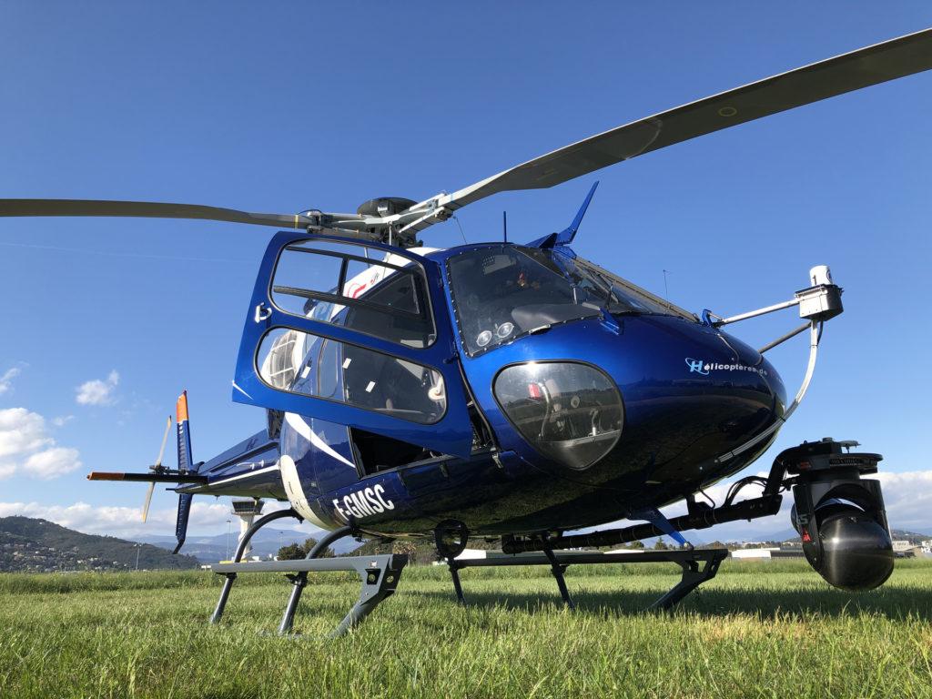 Aerial work - Aerial photography - Mont Blanc Hélicoptères Arcachon