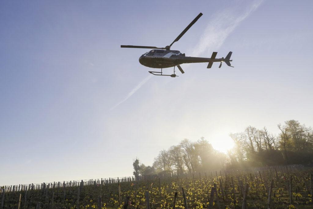 Aerial work - Frost control - Mont Blanc Hélicoptères Arcachon